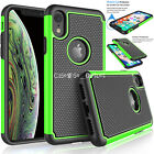 Shockproof Heavy Duty Bumper Hard Case Cover For Apple iPhone 6 7 8 X XS 11 12