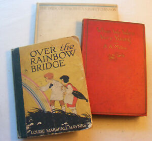 When We Were Very Young (1924/Milne) + Book of Simon (1930) + Over Rainbow(1925)