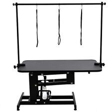 Heavy Duty Professional Hydraulic Dog Grooming Table Station Height Adjustable