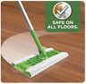 No.1 US Made Swiffer Sweeper Floor Mop Starter 1 Mop 7 Dry Cloths 3 Wet Cloths