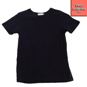 LES COYOTES DE PARIS T-Shirt Top Size 6Y Black Short Sleeve Crew Neck