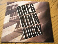 "GREG KIHN - LUCKY  7"" VINYL PROMO PS"