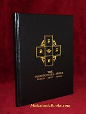 THE PHILOSOPHER'S STONE: A Facsimile Rosicrucian Alchemical Manuscript, LEATHER