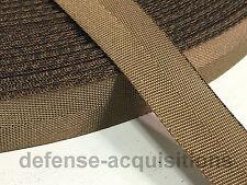 5 YARDS OF .75 Inch MilSpec Webbing Binding MIL-W-27265 4088 COYOTE