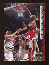 1996-97 Stadium Club MICHAEL JORDAN Basketball Card #101 Nm-Mt