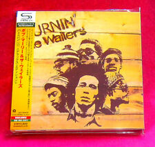 Bob Marley Burnin' SHM MINI LP CD 2 X CD JAPAN UICY-94587-88