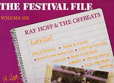 RAY HOFF & THE OFFBEATS - LET'S GO 1988 LP PROMO COPY OOP EX COND 1960'S ROCK