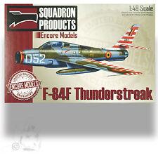 ENCORE 1/48 F-84F THUNDERSTREAK 1000 KIT LIMITED RELEASE KIT W RESIN, DECAL OPT