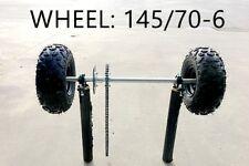 Huffy Slider Drift Trike Go Kart 25mm Complete Solid Axle wheels 145/70-6