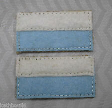 WW1 12th AIF Battalian color patchs=one pair