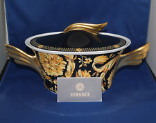 Versace Vanity by Rosenthal Vegetable Bowl, Covered, 54 ounce NEW IN VERSACE BOX