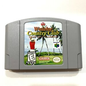 Verdadero Golf Clásicos Waialae País Club Nintendo 64 N64 Game - Probado -