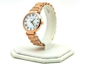 Women's Anne Klein Watch, Rose Gold Stainless Steel Watch AK-3026WTRG, New