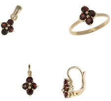PARURE gioiello in ORO anello orecchini pendente di 51