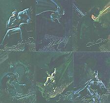 BATMAN MASTER SERIES BATMAN FANTASY SET (6)