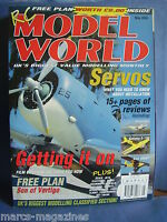RCMW RC MODEL WORLD MAY 2003 SON OF VERTIGO PLANS ALIENATOR KATANA S180 CUB 400