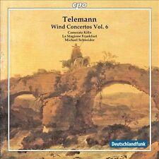 Telemann: Wind Concertos Vol. 6, New Music