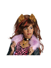Con licenza Parrucca CLAWDEEN WOLF Costume Monster High Halloween Costume BN