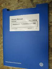 1995 VOLKSWAGEN PASSAT AUTOMATIC TRANSMISSION 096 FACTORY SERVICE MANUAL