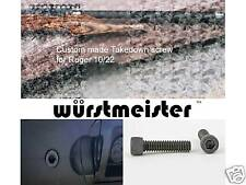 TAKEDOWN SCREW FOR RUGER 10/22 - SET OF 3 - NEW!