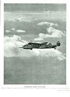 Publicité ancienne le messager volant de la paix 1938 issue de magazine