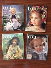 Contemporary Doll Collector Magazine Lot, Ann Timmerman, Poster, Paper Dolls