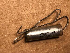 NOS Vintage West-Cap .022 uf 600v PIO Capacitor Vitamin Q Oil Tone Cap (Qty Ava)