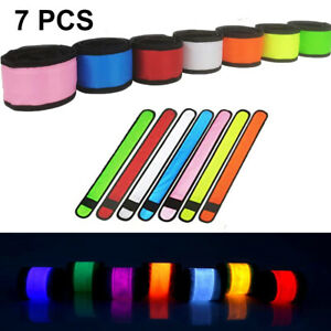 LED FLASHING ARMBAND RECHARGEABLE LIGHT-UP COLORFUL PARTY OUTDOOR SPORTS RUNNING