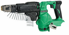 Hitachi 18v Cordless Auto Feed Screw Driver WF18DSL Charger 2 Batteries