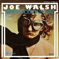 "7"" Joe Walsh (Eagles) – Rocky Mountain Way / Turn To Stone // Germany 1977"