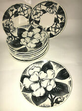 Dura-Print Malay Gardenia 15 Piece Lot - Bread and Butters and Saucers