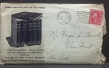 Watchtower / Jehovah's Witnesses item: MISSIONARY ENVELOPE of 1913 [seldom seen]