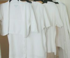 Women's White Shrugs and Short Sleeves Cardigans Various Styles, Sizes
