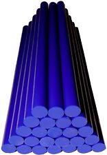 AUSBEUL HEIßKLEBER Ultramarinblau 25 Stick ca. 200x11,3mm Harte Version