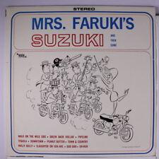 AVENGERS VI, ETC: Mrs. Faruki's Suzuki LP Sealed (Mono, surf instros, more abov