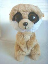 "Beanie Boo - 6"" Rebel The Meerkat - Solid Eyes - 2011 - No Hang Tag"