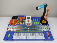 VTech Kidijamz DJ Music Studio Keyboard Portable MP3 Recorder Tested Purple VG