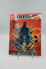 1989 DC Heroes Role Playing Module War of the Gods