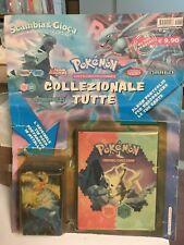 Pokemon tin deck portamazzo album portfolio blisterato