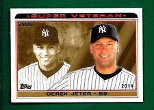2014 Topps Baseball  Super Veteran   DEREK JETER  Yankees   SV-3    MINT