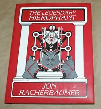 RACHERBAUMER, Legendary Heirophant, 1998 1st ed Hard cover   --TMGS Book Blowout