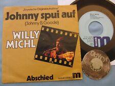 "7"" Single WILLY MICHL Johnny spui auf ( Johnny B. Goode ) 1976 | EX"