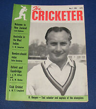 THE CRICKETER MAGAZINE MAY 7 1965 - WELCOME TO NEW ZEALAND
