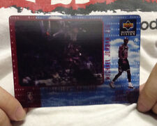 Michael Jordan 1997-98 Upper Deck Diamond Vision Evolution Lithograph #5