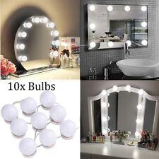 Vanity Mirror Light Kit for Makeup Dressing Table 10 LED Bulbs Retro Hollywood