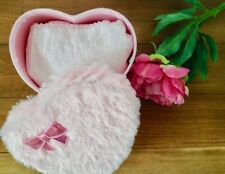 Gorgeous Pink Fluffy Heart Shaped Box & Pretty Pink Broderie Anglais Apron Gift!