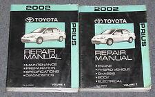 2002 Toyota Prius Service Repair Manual Set