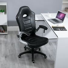 Samincom Ergonomic High-back Large Size Gaming Chair Desk Chair Swivel PU black