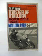 Mallory Park Master of Mallory Cycle Race Programme 14th April 1968