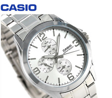 Casio Men's Standard MTP-V301D-7A Fashion Stainless Steel Dress Analog Watch New